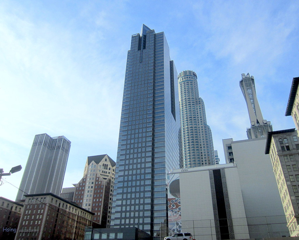 Tower Fuel Rule : Downtown los angeles buildings 洛杉磯市中心建築 myarchetypes